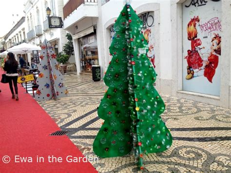 recycle christmas ideas ewa in the garden 8 recycled tree ideas projects for