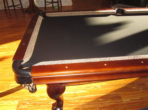 pool table felt repair there s so much more than green dk billiards service