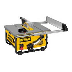 Dewalt Compact Table Saw Dewalt Dw745 Job Site Compact 10 In Table Saw With Site