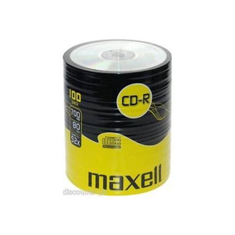 Maxell Cd R 52x 55pcs maxell 52x cd r
