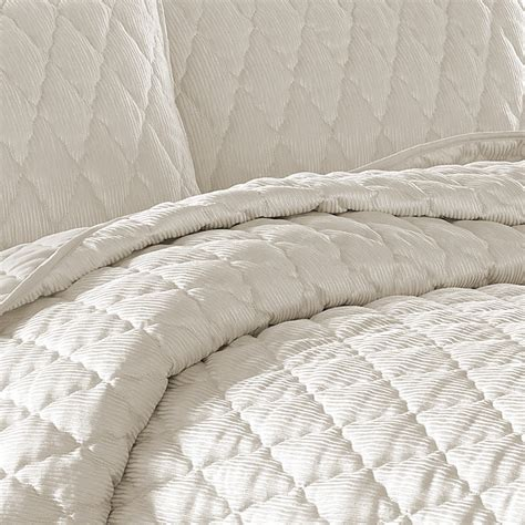 nicole miller coverlet nicole miller serenity pearl coverlet set from