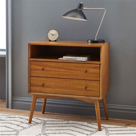mid century bedside table retro bedroom mid century bedside table at elm