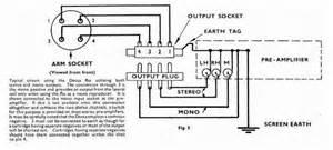 tonearm wire diagram