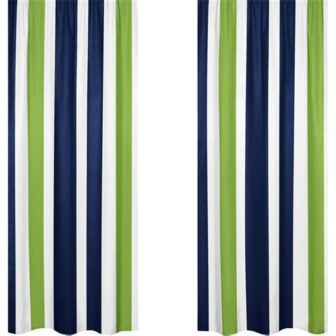 Green Striped Curtains Inspiration Furniture Navy And White Striped Curtains Inspirational Softline Sunbrella Cabana Stripe