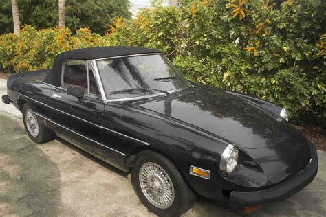 1978 alfa romeo spider veloce convertible 2 door 2 0l for sale