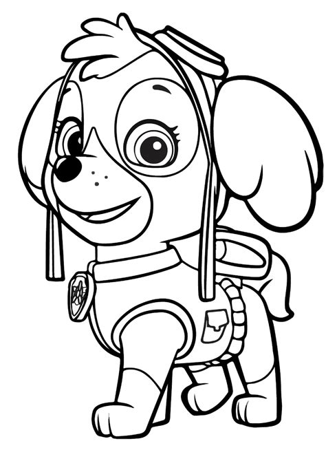 imagenes para colorear hospital dibujos de la patrulla canina para colorear paw patrol