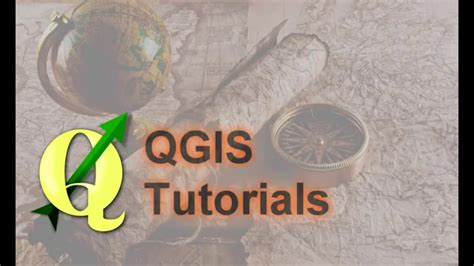 qgis clip tutorial qgis tutorials basic raster processing marge and clip