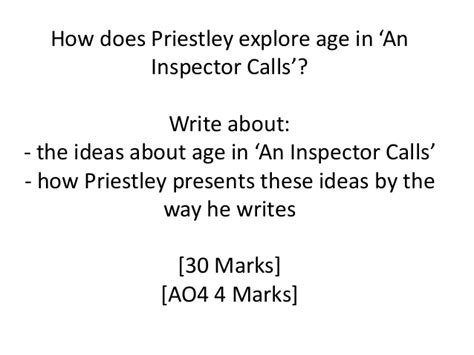 themes and issues in an inspector calls 15th june themes in an inspector calls revision