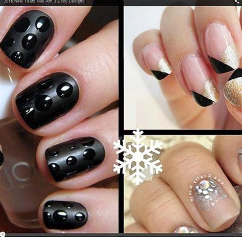 new year nail diy 9 easy diy ultra glam new year s nails