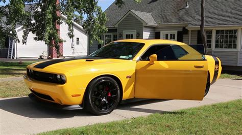 2012 Dodge Challenger SRT8 Yellow Jacket For Sale~Exhaust