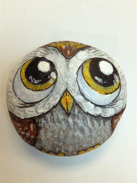 Pet Rock Snowy 41 best painted stones images on rock painting painted pebbles and painted rocks