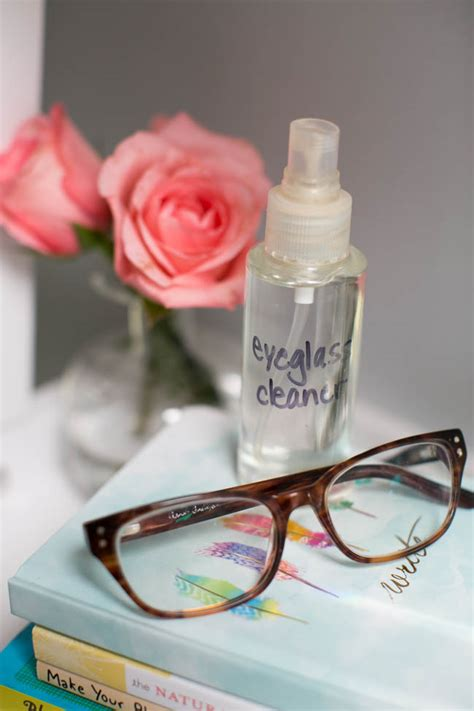 how to make your own eyeglass cleaner hellonatural co
