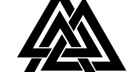 real rune magick the valknut a symbol of sacrifice