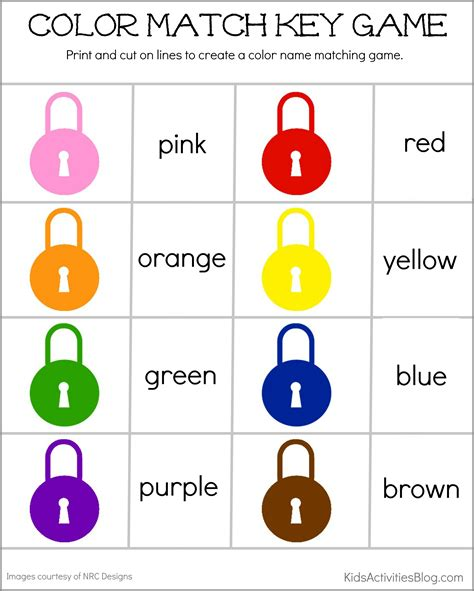 color kid 187 color activities for