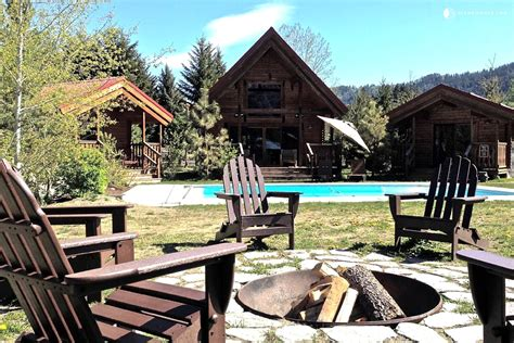 Leavenworth Cabin Rentals by Cabin Rental With Pool In Leavenworth