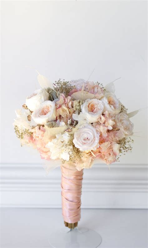 Real Bridal Bouquets by Gold Bridal Bouquet All Preserved Real Flowers To