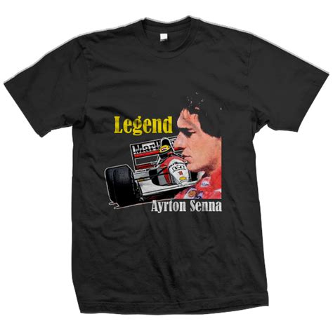 Kaos Formula 1 Aryton Senna ayrton senna da silva collections t shirts design