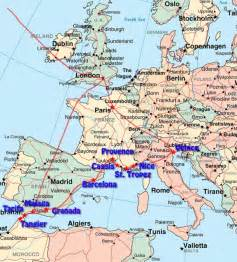 Europe Travel Map by Kat Z Meow Europe Travel Map