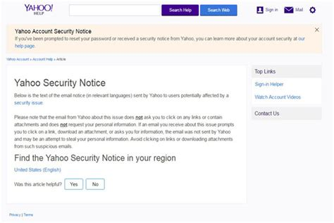 yahoo email security questions changed 500 million yahoo users affected by data breach password