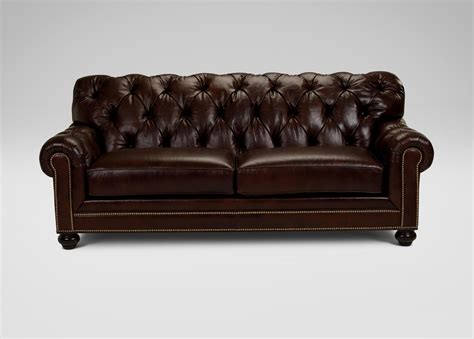 chadwick sofa ethan allen lincoln ave living room chadwick leather sofa sofas loveseats ethan allen