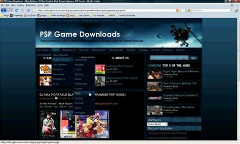 film gane download how to download free psp games psp movies pc games