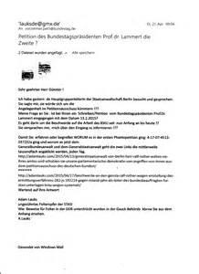 Der Offizielle Brief Beispiel Offener Brief An Den Deutschen Bundestag Und An Alle Abgeordneten An Die Expertenkommission Zur
