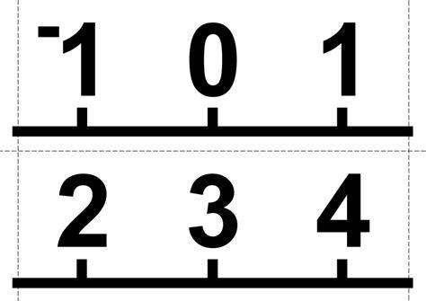 printable number line poster math love printable vertical number line posters