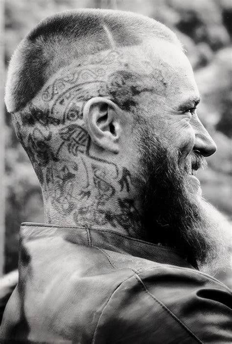 ragnar head tattoos tattoos of ragnar