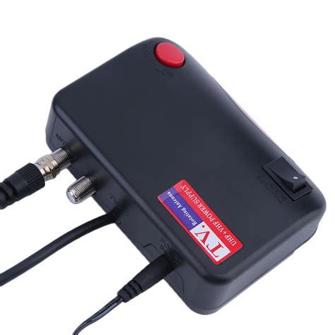 hdtv 1080p outdoor lified antenna 360 rotor digital hd tv uhf vhf fm 150 mile ebay