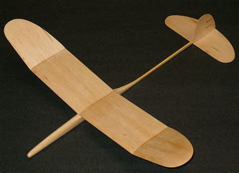 pattern for wood glider homemade balsa wood airplane models pdf woodworking