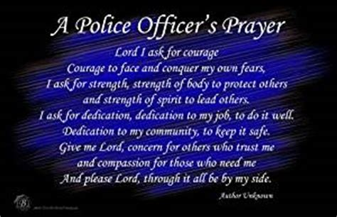 Officers Prayer by A Officer S Prayer Wall Poster Posters
