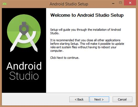 install android studio android studio