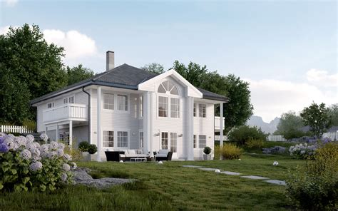 house project norwegian house project 3dstudija