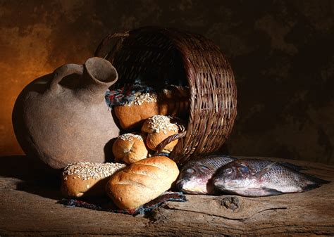 Christian Two all i need is five loaves of bread and two fish lionel