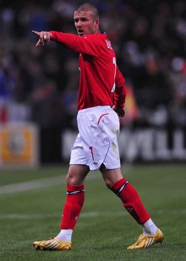 david beckham soccer player biography beckham s gold boots england caps adidas predator and