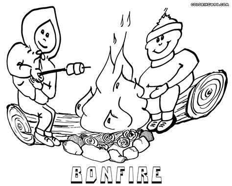 Bonfire Coloring Pages Coloring Pages To Download And Print Bonfire Colouring Pages