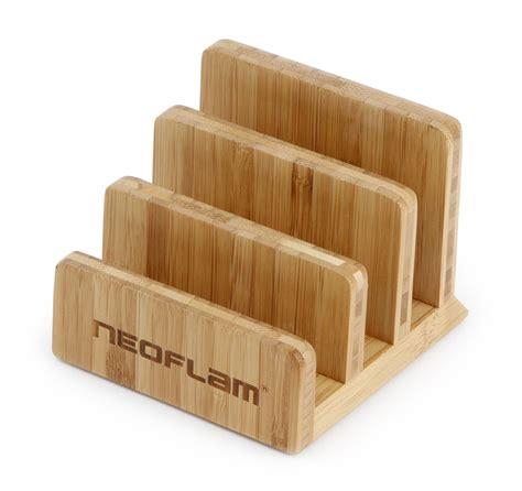 Kitchen Knives Set neoflam bamboo cutting board holder organizer