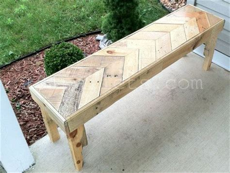 bench made of pallets inexpensive benches made of pallets 101 pallets