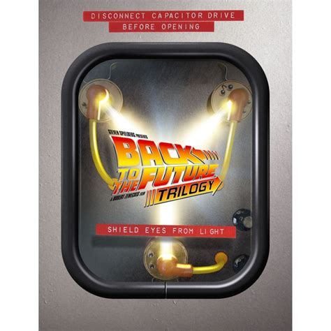 back to the future flux capacitor back to the future flux capacitor boxset zavvi