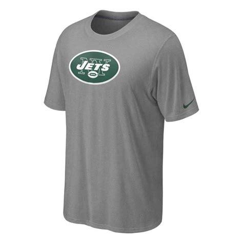 Polo Tshirt Nike Jets nike mens shortsleeve new york jets tshirt in gray for lyst