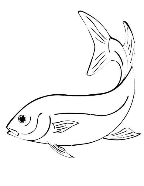 Coloring Page Of Fish by Free Printable Fish Coloring Pages For