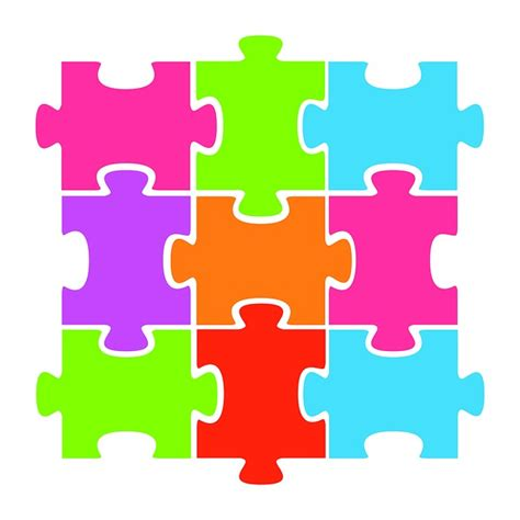 free clipart photos free illustration jigsaw puzzle colorful clipart