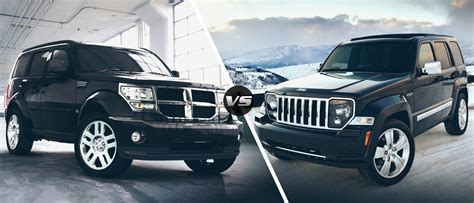 Jeep Nitro Chrysler 2011 Dodge Nitro Vs 2011 Jeep Liberty