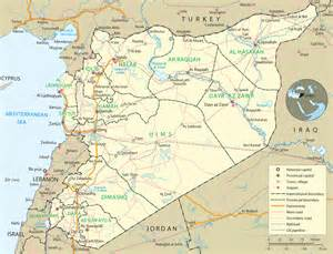 Maps Of Syria by Damascus Syria Map Images