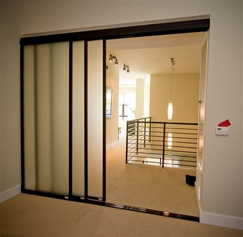 Sliding Door Room Divider One Sliding Room Dividers