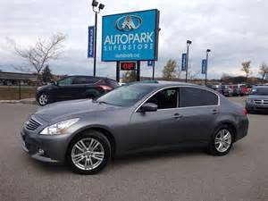 Autopark Barrie Used Cars 2011 Infiniti G37 Luxury Awd 3 7l Heated Leather