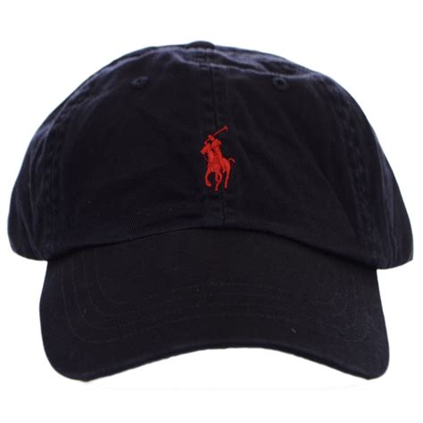 polo ralph navy polo player baseball cap polo