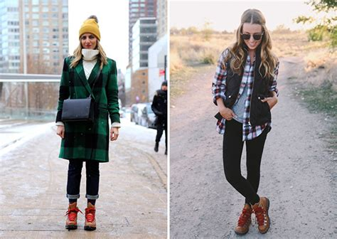 9 stylish ways to wear hiking boots a named pj