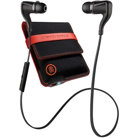 Plantronics Wireless Earbuds Backbeat Go 3 With Original plantronics backbeat go 2 bluetooth wireless earbud headphones w charging backbeatgo2