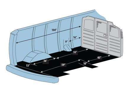 Cargo Interior Dimensions by Commercial Upfits